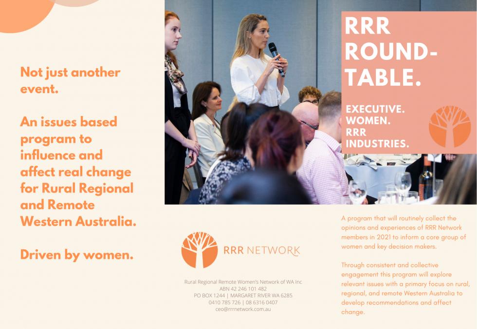 RRR NETWORK ANNOUNCE – 2021 ROUNDTABLE FORUM GROUP